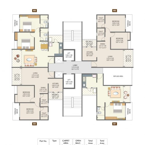 3BHK in (3)